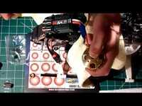 How to install Scorpion 4025 bearings