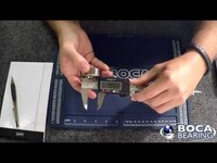 Boca Bearings: How to use calipers and measure bearings