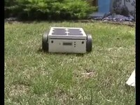 Robotic lawn mower powered by Solar Energy with an Arduino heart.