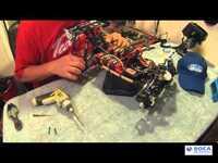 How to replace Team C T8E hub bearings