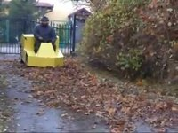 Self-Propelled Leaf Hoover