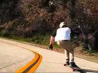 Downhill Longboarding in Cali