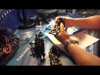 Green Seals Bearings Installation for Tekno EB48: Part 1 (Front)