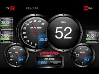 Traxxas TQi Telemetry Radio and App: Break In Hitting 59 mph