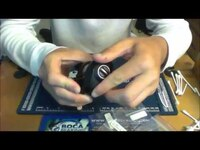 How to install Bearings in a Quantum Smoke fishing reel